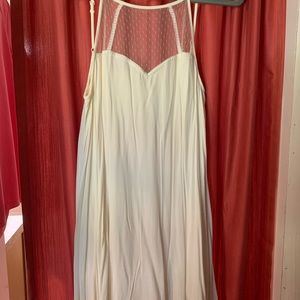 Altard state cream dress